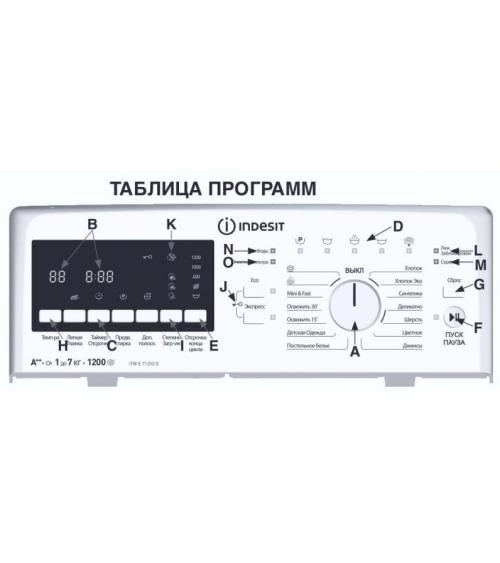 Стиральная машина Indesit ITWE 71252 W