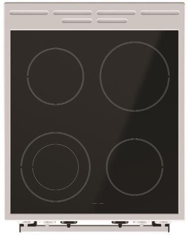 Электрическая плита Gorenje EC 5341 WC
