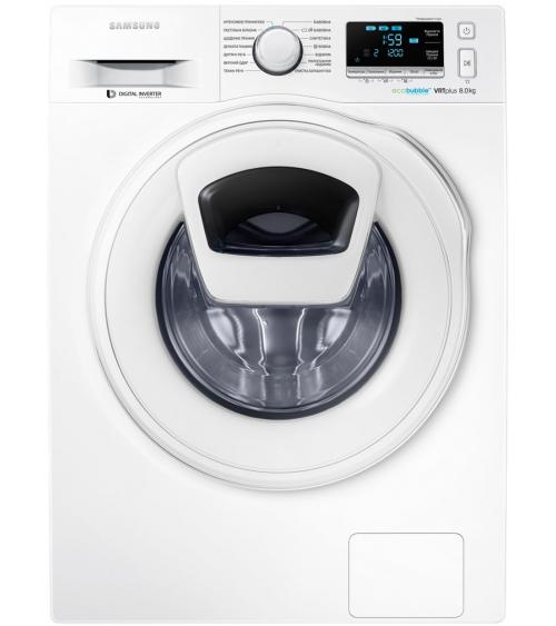 Стиральная машина Samsung WW80K6210TW