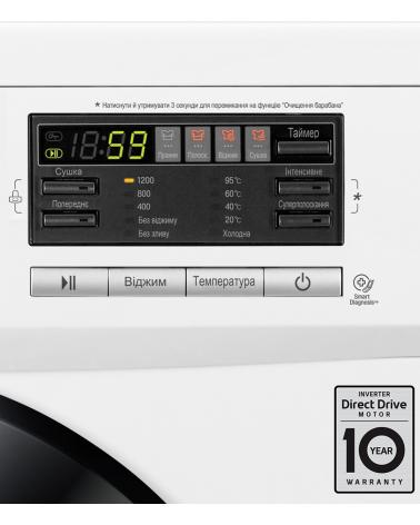 Стиральная машина LG F1296CDS3
